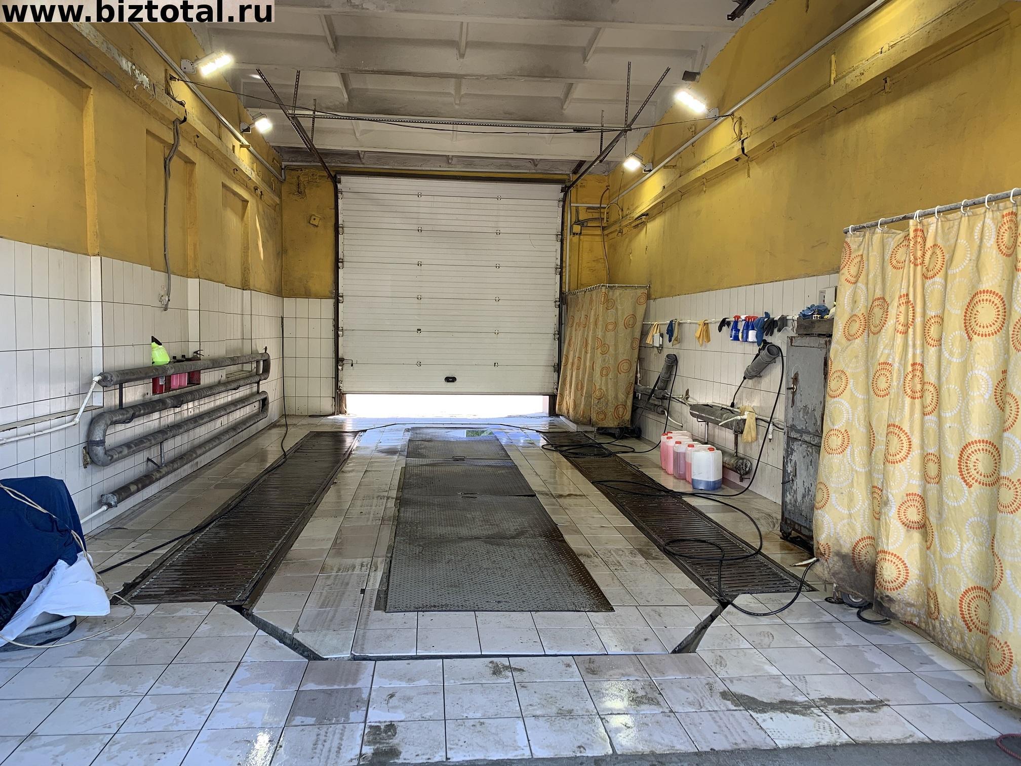 Продается в собственность действующий готовый бизнес автомойка для легковых и грузовых автомобилей