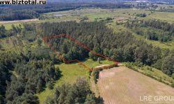 1 га земля и лес, Яунаустрас 15, Балдонская волость, Балдонский край, Латвия.