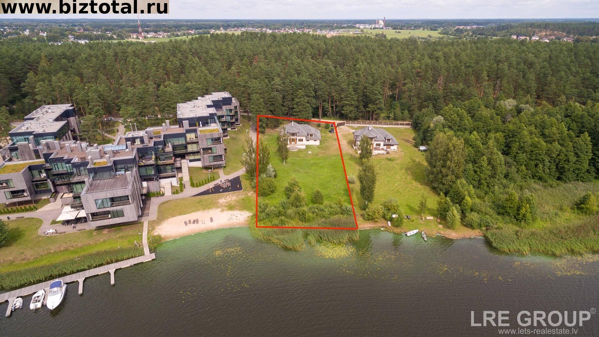 Дом, земля (ул. Балткрасту 2, Балтэзерс, Адажский край, Латвия)