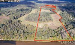 14 га земли (7,8 га леса), Яунбейтини, Илкене, Адажский край, Латвия.