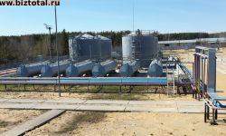 Новая база для хранения светлых нефтепродуктов.