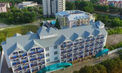 Cовременный действующий отель в Анапе