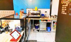 Оригинальное кафе с оборудованием