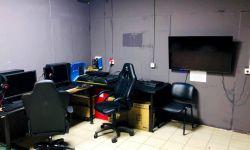Компьютерный клуб с новым оборудованием