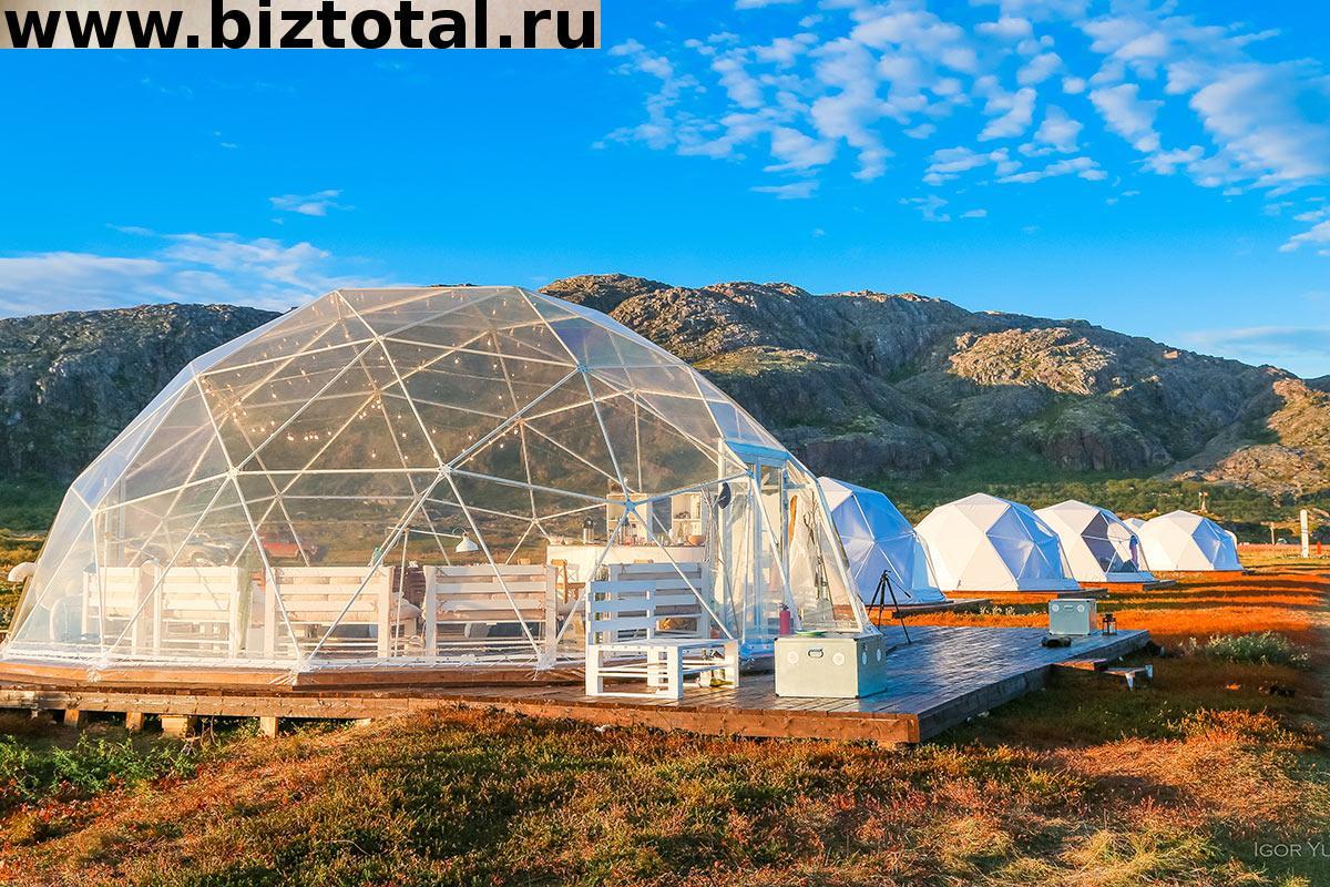 Отель в дикой природе (глэмпинг) инвестиции