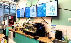 Кофейня на вокзале