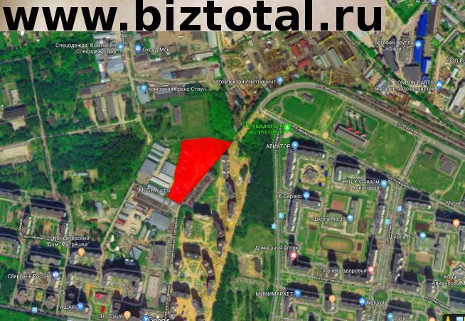 Земельный участок для жилой многоэтажной застройки