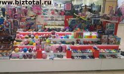 Магазин детский, игрушки, сладости