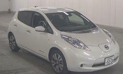 Электромобиль хэтчбек Nissan Leaf кузов AZE0 модификация 30X Edition гв 2016