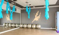 Стильная студия йоги