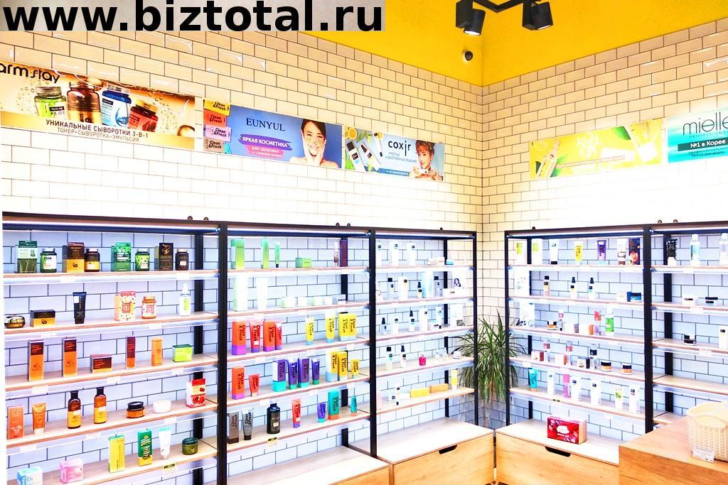 Прибыльный магазин корейской косметики в ТЦ