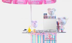 Аппарат для фигурной сладкой ваты Candyman Version 4