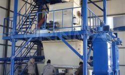 Линия для производства сухих строительных смесей