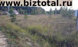 Земельный участок в деревне Аббакумово