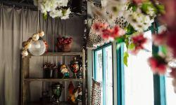 Укомплектованный летний зал ресторана украинской кухни