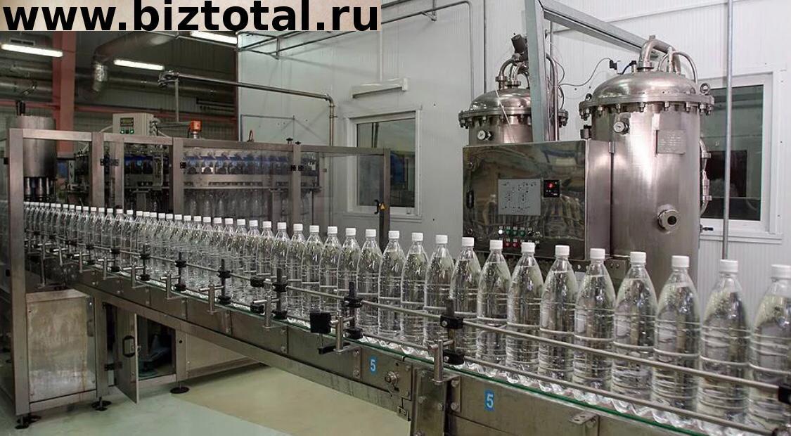 Завод по производству минеральной воды