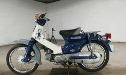 Мотоцикл дорожный Honda C50 Super Cub рама C50 скутерета задний багажник гв 1998