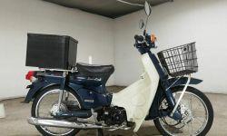 Мотоцикл дорожный Honda Super Cub Custom рама AA01 скутерета корзина рундук гв 2009