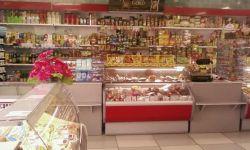 Продуктовый магазин в центре города