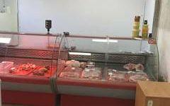 Мясной отдел вместе с оборудованием