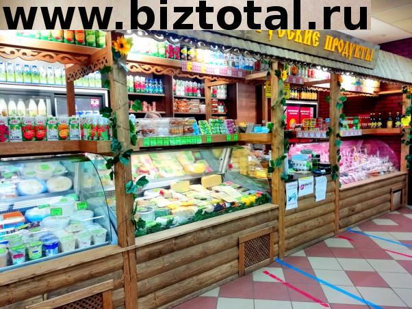 Продуктовый магазин у остановки