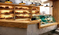 Прибыльная пекарня рядом с остановкой