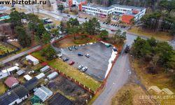 2967 м² земельный участок под коммерческую застройку, Талсинское шоссе 70, Каугури, Юрмала, Латвия.