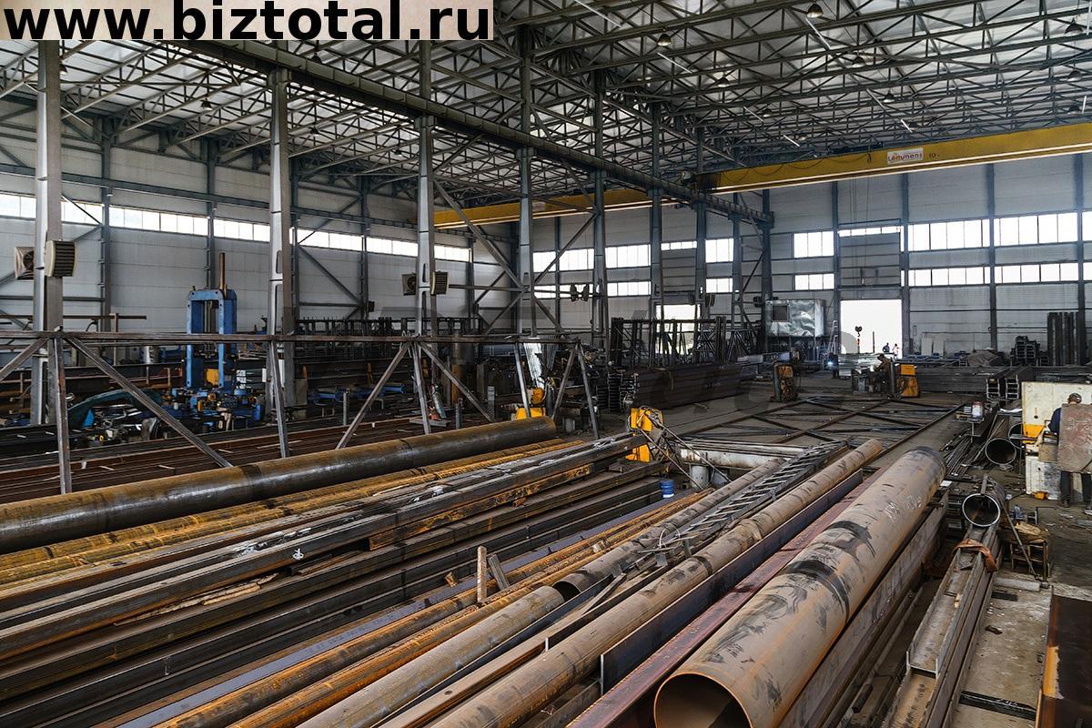 Продам бизнес: завод по изготовлению металлоконструкций