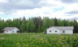 Участок под фермерское хозяйства 1 га и 2 дома в Ленобласти